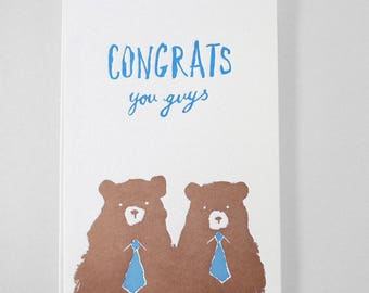 Congratulations you guys!