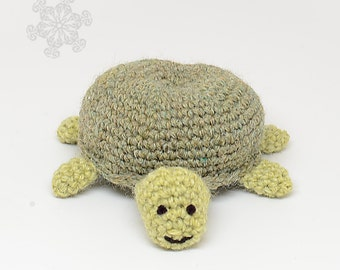 Green Turtle Toy - Amigurumi Turtle - Crochet Turtle