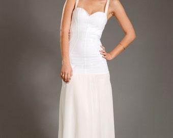 "Maxi dresses Sexy wedding dresses design ""ADI MAXI"" SALE!!! - A maxi dress in an intelligent delicate lingerie look"