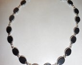 Black and Silver Necklace...