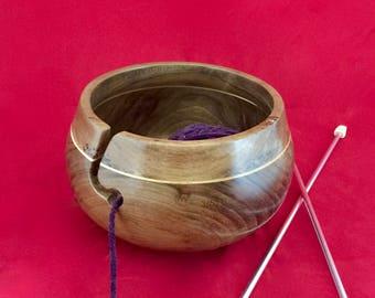 Walnut Yarn Holder KB139