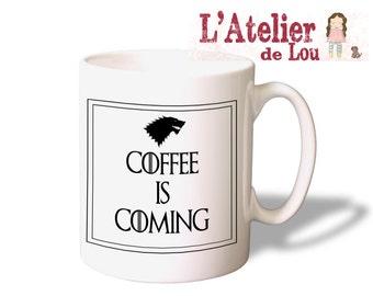 Game of Thrones - Coffee is Coming - House of Stark Mug