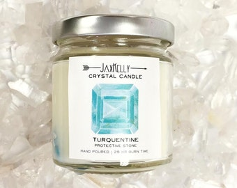 "Turquentine Crystal Candle ""Little Sister"""