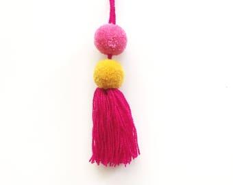POMPOM TASSEL - handmade in Mexico