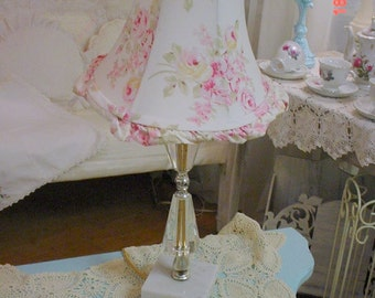Shabby Chic Lamp Rachel Ashwell Shade Romantic French Country Cottage