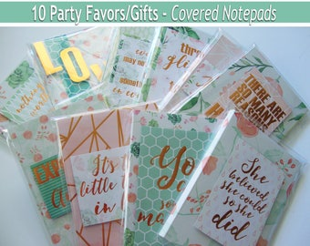 Notepad Party Favors,Memo Pads,Adult Gift Bags,Birthday Bags,Wedding Favors,Bulk notepads,Bulk party favors,gift bags,party favors,