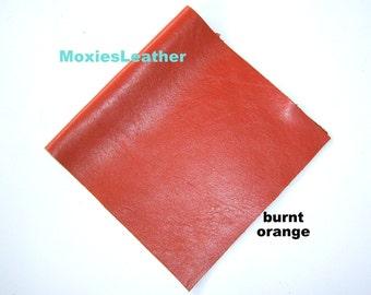 Genuine leather pieces choose colors , orange cream blue grey leather leather piece , leather remnant , wholesale leather