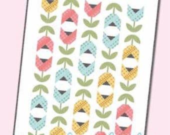 Dutch Tulips Quilt Kit by It's Sew Emma