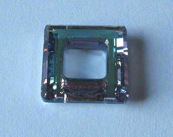 SWAROVSKI 4439 Cosmic Square Crystal 14mm VITRAIL LIGHT