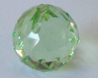 1 SWAROVSKI 8558 Strass Crystal Ball Prism 30mm PERIDOT