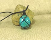 Chrysocolla Pendant - The Relationship Stone - Reiki Infused Jewelry - Reiki Pendant