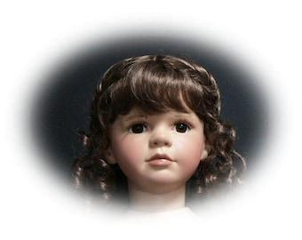 "DIY Reproduction Porcelain Doll Kit,  Malena 28 """