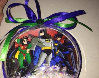 Batman &robin ornament