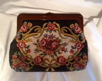 Vintage  Brocade Ladies HandBag/Clutch