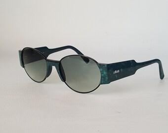 SILHOUETTE Vintage Round Sunglasses • Made in Austria • Rare Silhouette M 8019 /57