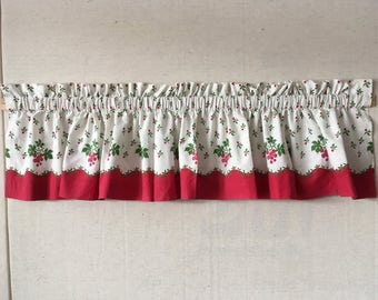 Vintage window valance