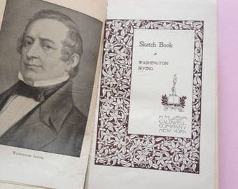 SALE - Washington Irving - Sketchbook