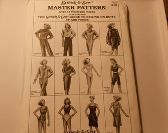 Stretch and Sew MASTER PATTERN uncut, unused Ann Person