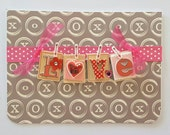 Valentine Card with envelope