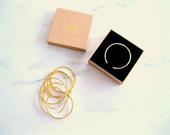 Gold open cuff bracelet, simple bracelet, minimalist bracelet, gold cuff, rose gold cuff, cuff bracelet, bangle bracelet, stacking bracelets