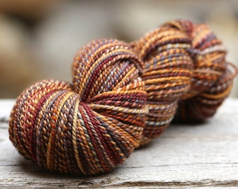 "Handspun Worsted BFL ""Noon Train"" 213 yds."