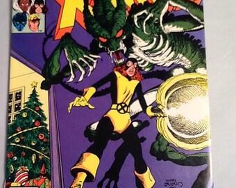 vintage 1981 x-men #143 marvel comic book kitty pride john byrne vf+