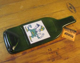 Notre Dame Fighting Irish Flattened Bottle