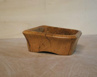 Wooden vase handmade
