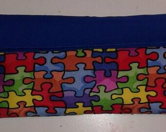 Autism Awareness Snap Bag
