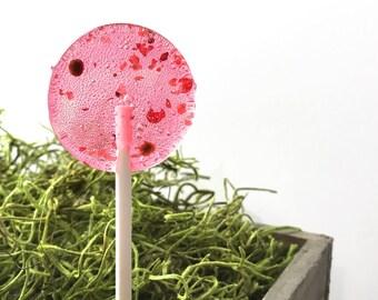 20 Summer Wedding Favors //  Watermelon Pink Peppercorn // Pink Lollipops // Spring Wedding // Pink Favors // Fall Wedding
