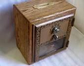 Post office lock box bank, #2 size