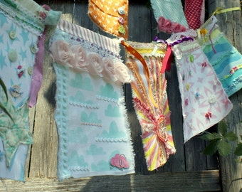Gypsy Prayer Flags (One January Day @ Home Workshop)