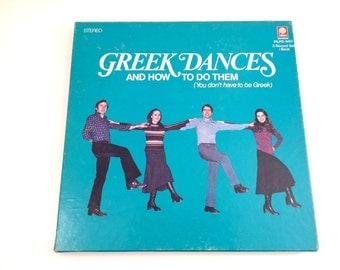 Greek Dances and How to Do Them, 1975