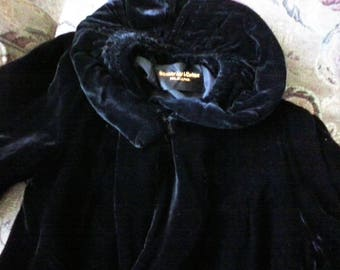 Velvet Opera Coat Strawbridge and Clothier