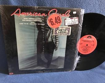 "RARE Vintage, ""American Gigolo"" Original Soundtrack, Vinyl LP, In Shrink, Record Album, Blondie Call Me, Giorgio Moroder, David Duchovny"