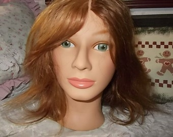 Marianna Mannequin Head Miss Nicole, Cosmetology Tool, Hat Display, Crafts, Mannequin Head,Hair Learning tool, Cosmetology Head, Prop Tool )