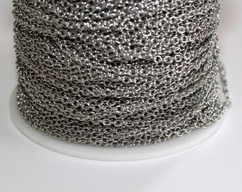 30ft Stainless Steel Cable Chain links 2mm