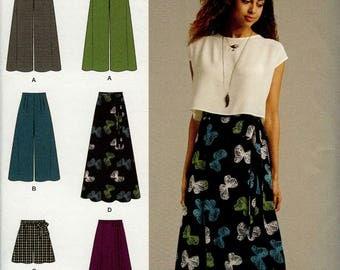 Simplicity 1069 Skirt Pattern Size D5 4-12