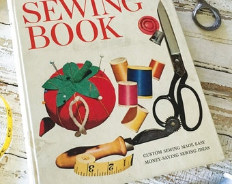 Vintage 1950's Sewing Binder Book Better Homes and Gardens How to Sew Book