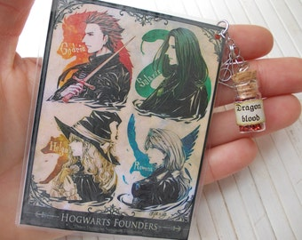 Harry Potter, founders Hogwarts,bookmark
