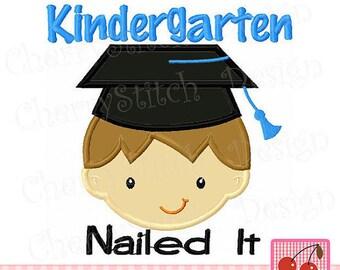 Kindergarten Graduation, Kindergarten Nailed It, Kindergarten Graduation Gift, Kindergarten Grad