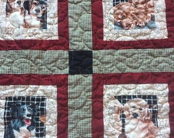 Dog Lovers Lap Quilt