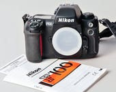 Nikon F100 Camera Body Automatic 35mm + Instructions Excellent++ Condition