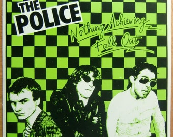 "THE POLICE  - Fall Out- 7"" single -  vinyl record"