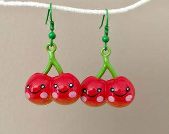 Cherry Bell Earrings