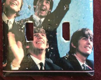 Beatles light switch plate