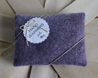 Hand Warmers - Set of 2 Rectangles Lavender