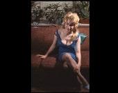 "35 mm Slide/Transparency: ""Pat"", c1950s-60s Vintage Snapshot Photo"