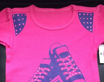 Bling Low Tops Babydoll Top