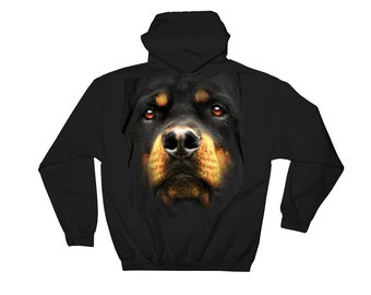 Rottweiler Zip up Hoodie